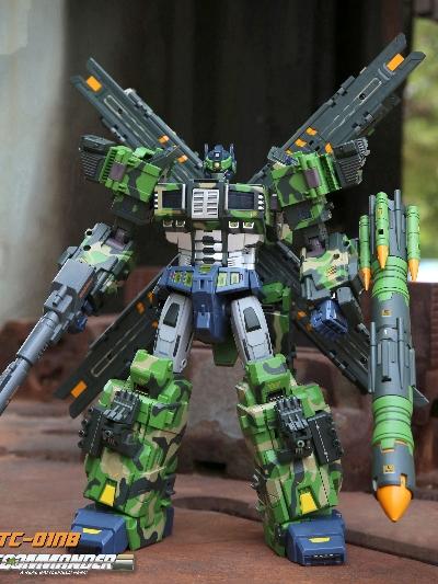 极艺合创变形玩具定制案例-【TFC TOYS】STC-01最高战术指挥官
