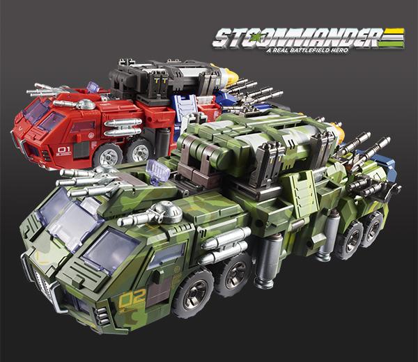 TFCTOYS02-导弹迷彩滚雷变形玩具