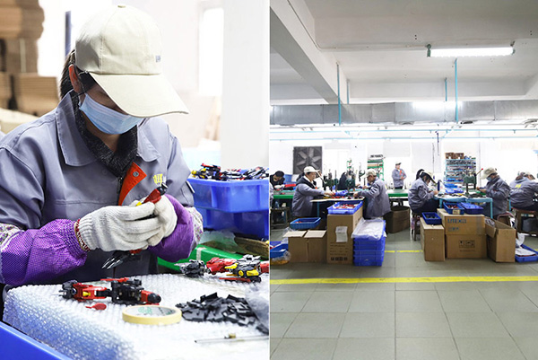 玩具组装生产