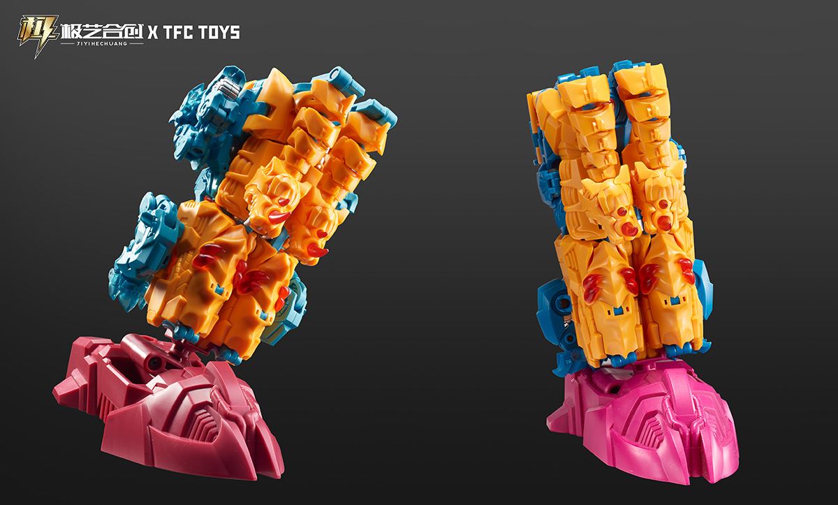 TFC撒坦-无赖兽变形玩具
