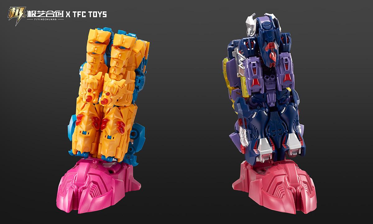 TFC撒坦-血污熊变形玩具