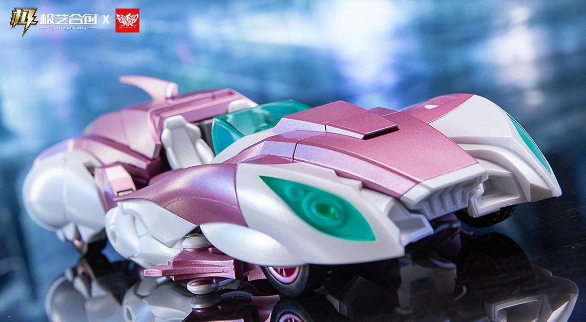 大火鸟产品武机姬EX01-NICEE奶昔变形玩具