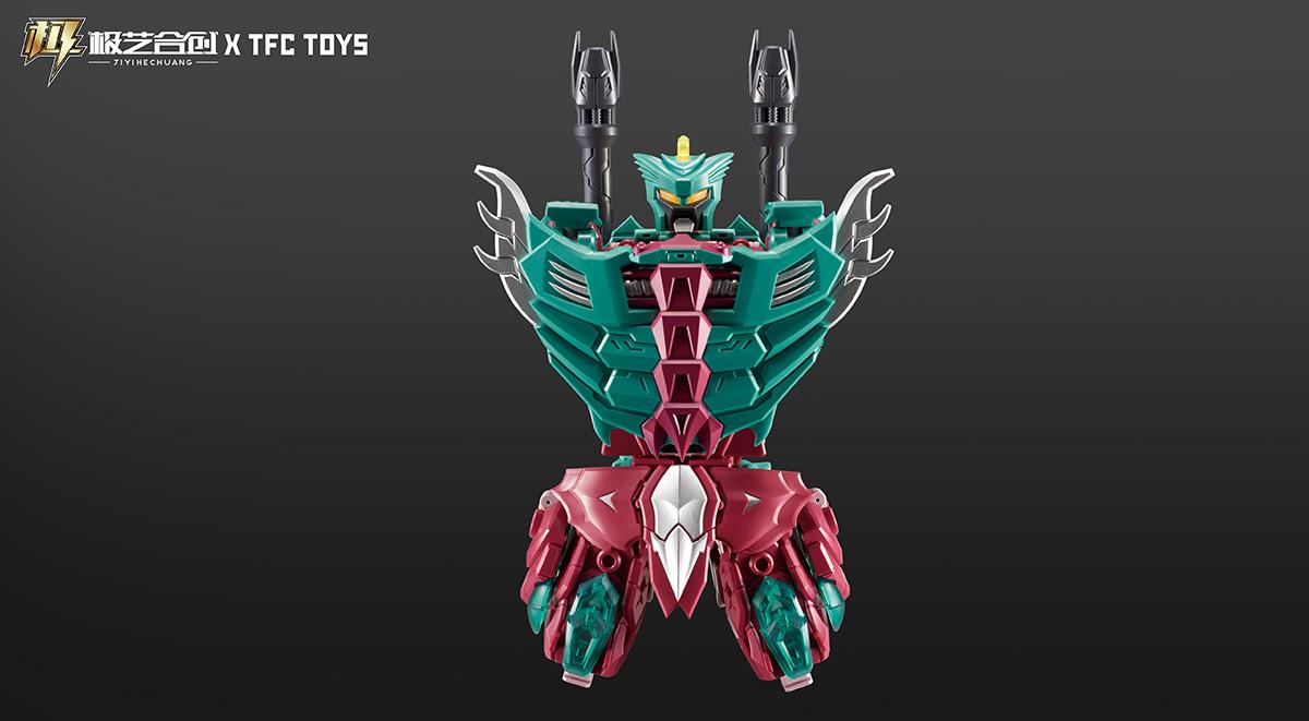 TFC波塞冬-P04-铁玄甲-IRONSHELL变形玩具