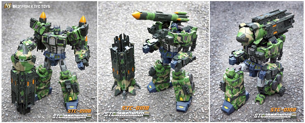 TFC核弹柱STC-01变形玩具