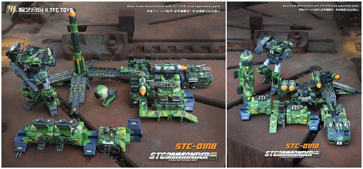 TFC导弹柱STC-01变形玩具