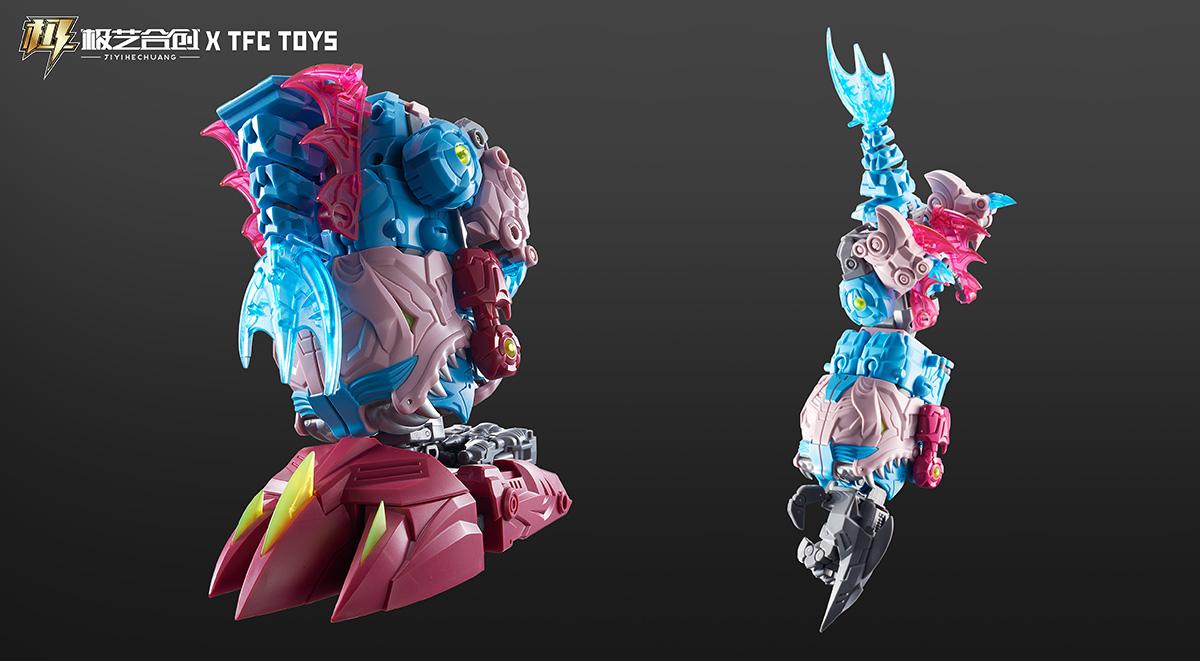 TFC波塞冬-P03-狂噬-BIGBITE变形玩具