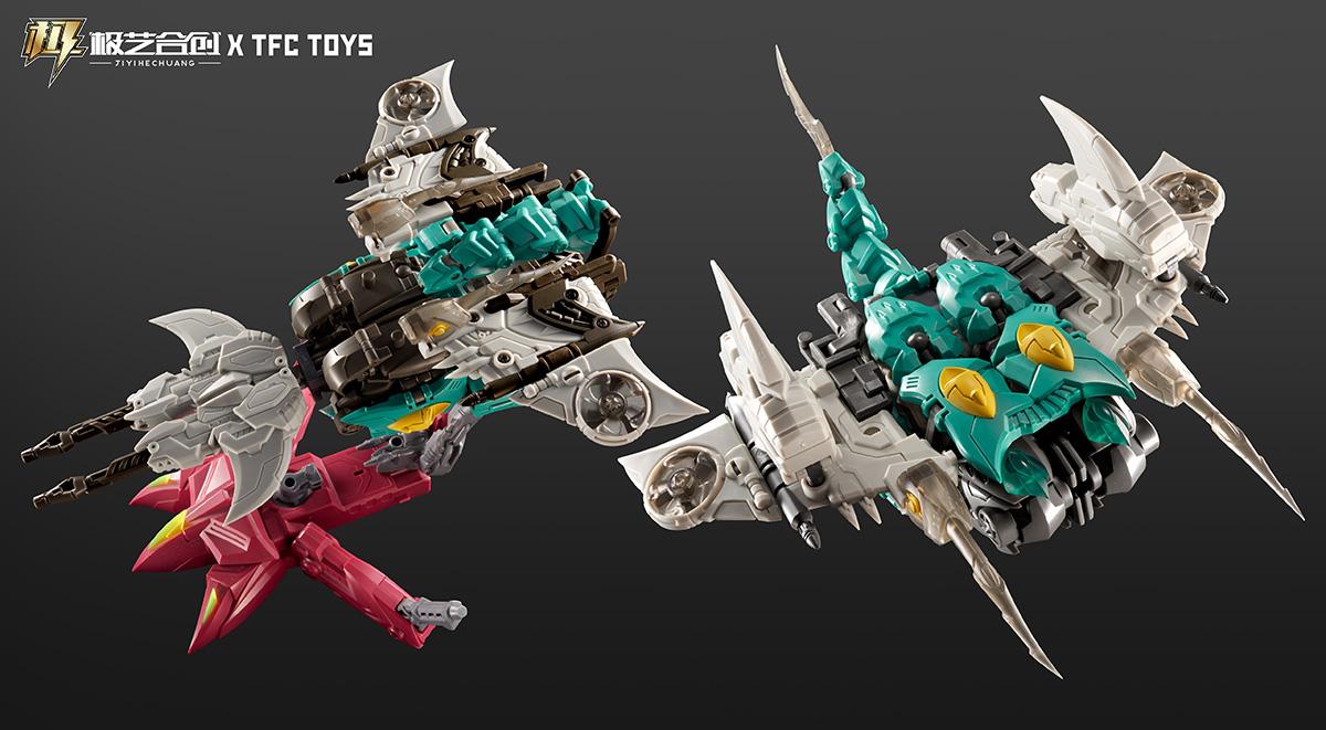 TFC波塞冬-P01-海魔刃-MENTARAZOR变形玩具