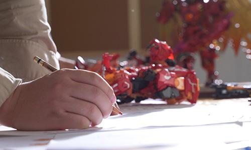 极艺玩具设计部工作特写